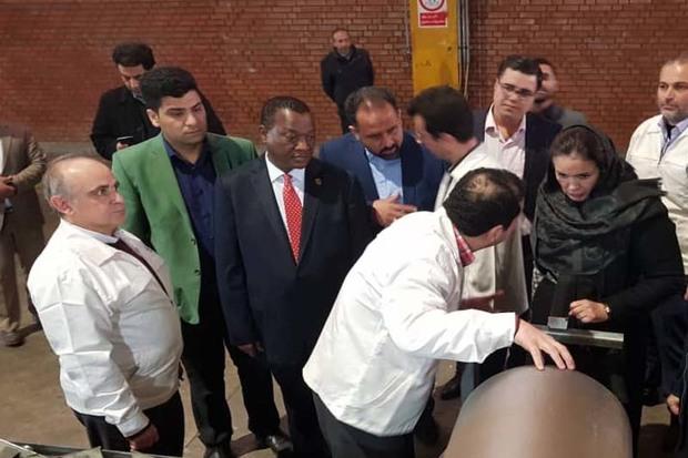 سفیر آفریقای جنوبی از شهرک صنعتی لیا بازدید کرد