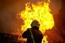 آتشسوزی یک باب مغازه بر اثر نشت گاز در اهواز  حادثه صدمات جانی در بر نداشت