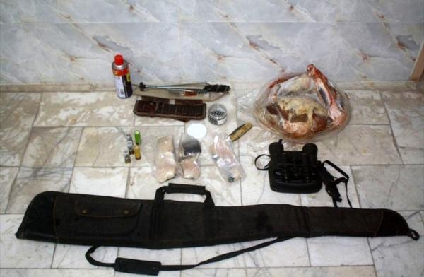 شکارچی متخلف گونههای حیات وحش دستگیر شد