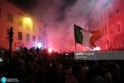 جشن و پایکوبی ایتالیایی ها بعد از قهرمانی در اروپا +عکس و ویدیو