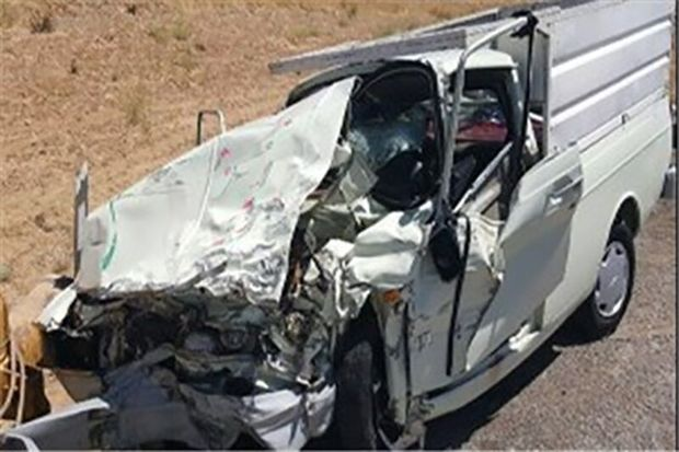 تصادف در محور دهلران - اندیمشک یک کشته و دو مجروح بر جای گذاشت