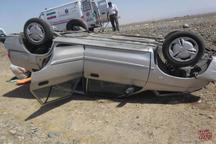 واژگونی خودرو در سبزوار سه مصدوم داشت