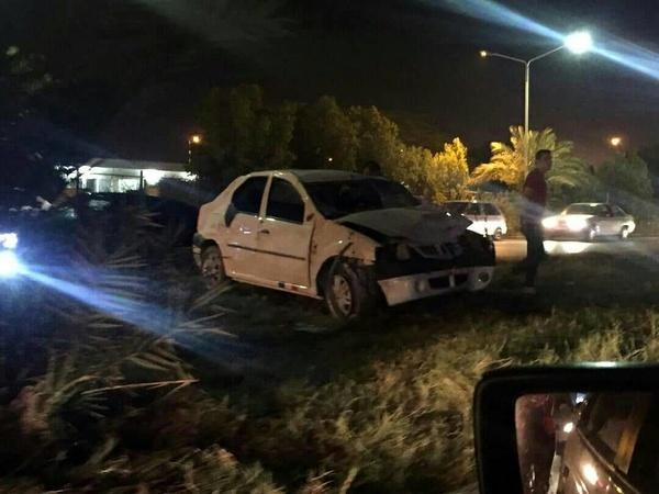 مرگ کارگر فضای سبز آبادان در پی لایی کشی یک خودرو