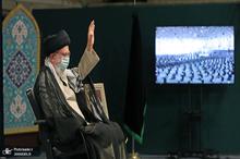 مراسم عزاداری اربعین حسینی با حضور رهبر معظم انقلاب