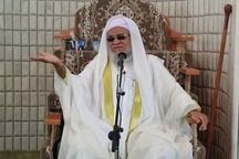امام جمعه اهل سنت ایرانشهر: آمریکا به دنبال شعله ور کردن آتش اختلاف در جهان است