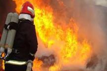 یک مجتمع تجاری در مشهد آتش گرفت