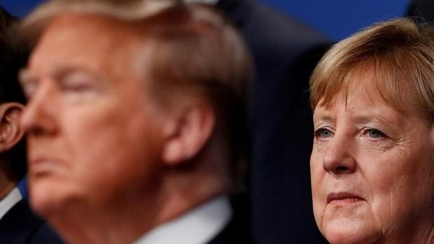 آلمانی ها از ترامپ بیشتر از کرونا می ترسند