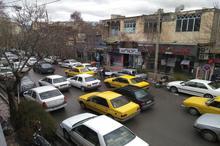 وضعیت عجیب خیابانهای نهاوندِ همدان در دوران کرونا + تصاویر