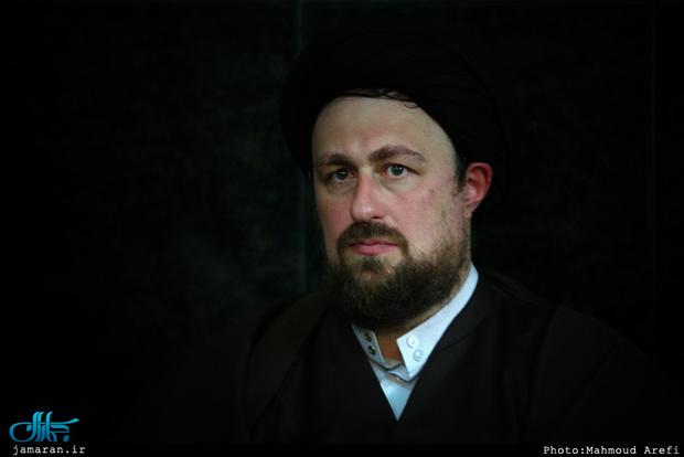 تسلیت سید حسن خمینی به حجت الاسلام و المسلمین حسنخانی