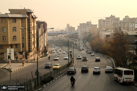 کیفیت هوای تهران در 24 ساعت گذشته/ 11تیر 99