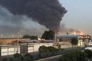 آتشسوزی در محدوده جاده مخصوص کرج  + فیلم