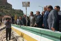 رئیس مجلس شورای اسلامی از سد تنگاب فارس بازدید کرد
