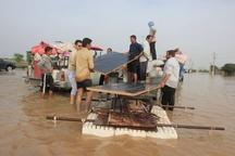 گزارشی میدانی از وضعیت سیلاب در حمیدیه و سید عباس خوزستان