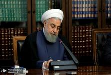 روحانی درگذشت مادر شهید همت را تسلیت گفت