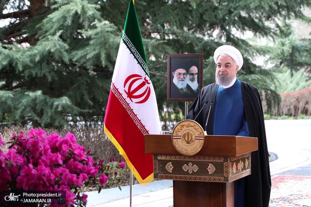 روحانی: انتخابات پرشور با مشارکت حداکثری شرط قطعی تحقق آرزوهای ملت ایران است