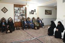خانواده شهدا سرمایه اجتماعی نظام اسلامی هستند