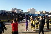 خوشه طلایی ساوه با پیروزی بر گل ریحان البرز همچنان مدعی صعود است