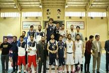 دانشگاه صنعتی اصفهان قهرمان بسکتبال سه نفره دانشجویان شد