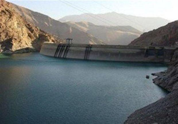 حجم آب در سد دامغان به ۱۹.۵ میلیون متر مکعب رسید