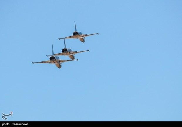 تحویل 3 فروند جت جنگنده کوثر به نیروی هوایی ارتش (19)