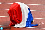 گزارش تصویری المپیک توکیو| پرچم