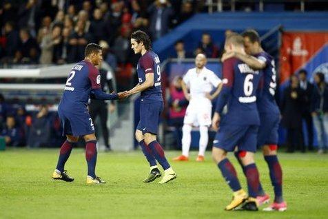 پاریسنژرمن با برتری در بازی معوقه در آستانه قهرمانی قرار گرفت