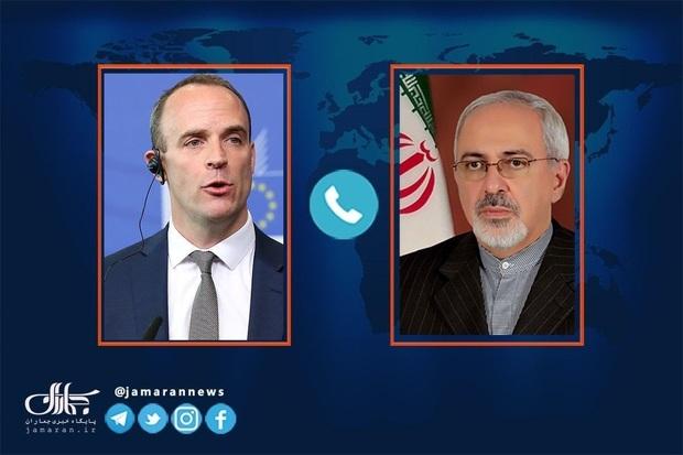 ظریف خطاب به وزیر خارجه انگلیس: در نشست وین سازنده ظاهر شوید