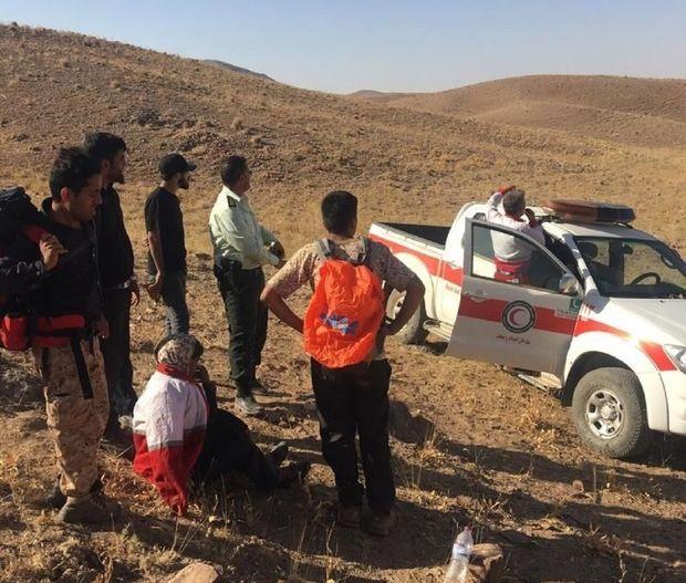 دختر مفقود در ارتفاعات نقنج بیرجند پیدا شد