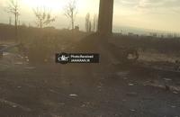 تصاویری از محل ترور دانشمند کشورمان (5)