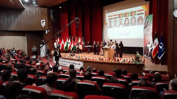 جشن چله انقلاب در دانشگاه فردوسی مشهد برگزار شد
