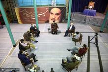 دیدار مدیرمسئول و چندتن از اعضای تحریریه روزنامه اعتماد با سید حسن خمینی