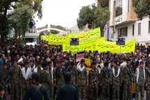 حضور مردم در راهپیمایی 13 آبان نشانه خستگی ناپذیری شان است