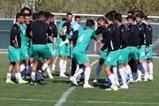 آخرین تمرین تیم ملی فوتبال پیش از دیدار با سوریه+ تصاویر