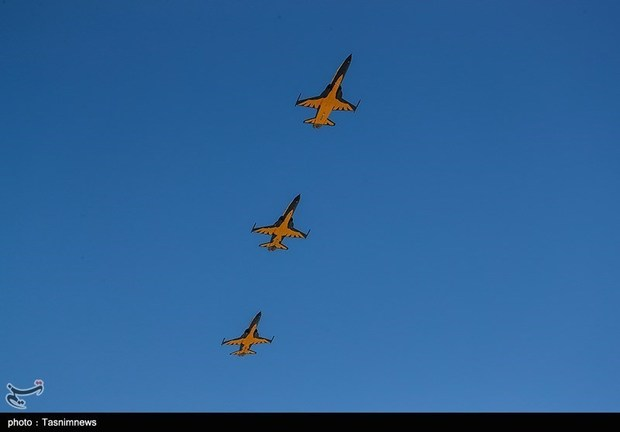 تحویل 3 فروند جت جنگنده کوثر به نیروی هوایی ارتش (6)