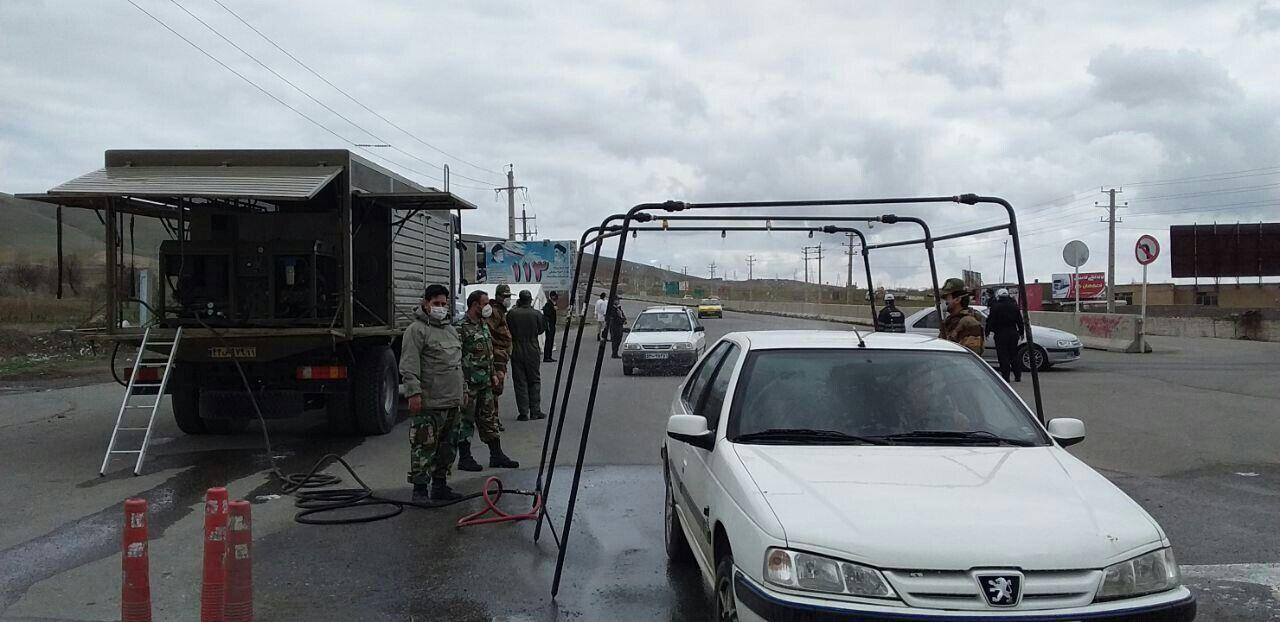 ۲۷ هزار تست غربالگری خودرویی ارتش در مبادی ایلام