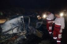 تصادف در جاده پاتاوه به دهدشت یک کشته برجا گذاشت