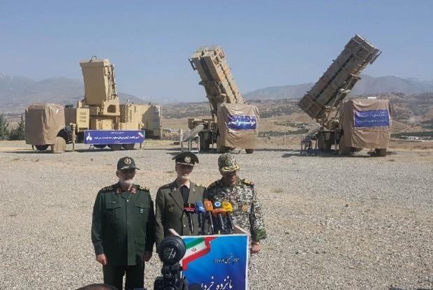 سامانه سلاح پدافند هوایی پیشرفته «15 خرداد» تحویل ارتش داده شد