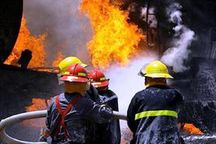 آتشسوزی کارخانه موکت مهریز مهار شد