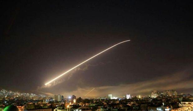 دفع حمله هوایی رژیم صهیونیستی به درعا سوریه