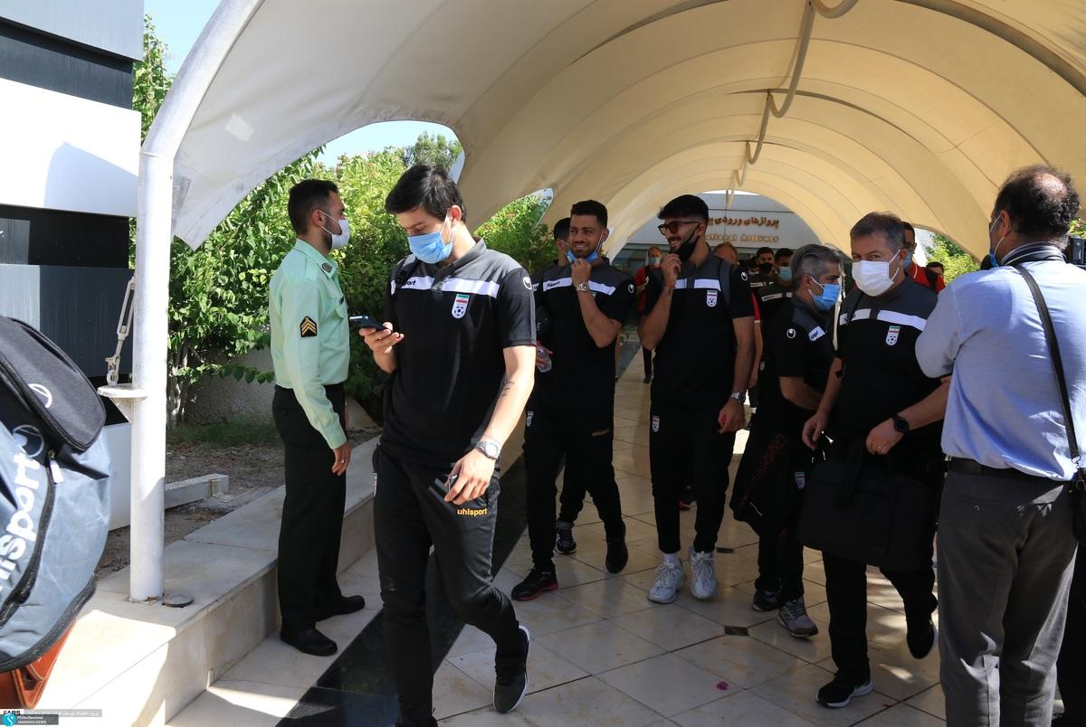 تمرین تیم ملی فوتبال ایران در کیش+عکس و ویدیو