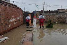 امدادرسانی به یکصد خانوار خوزستانی در پی بارش باران و برف