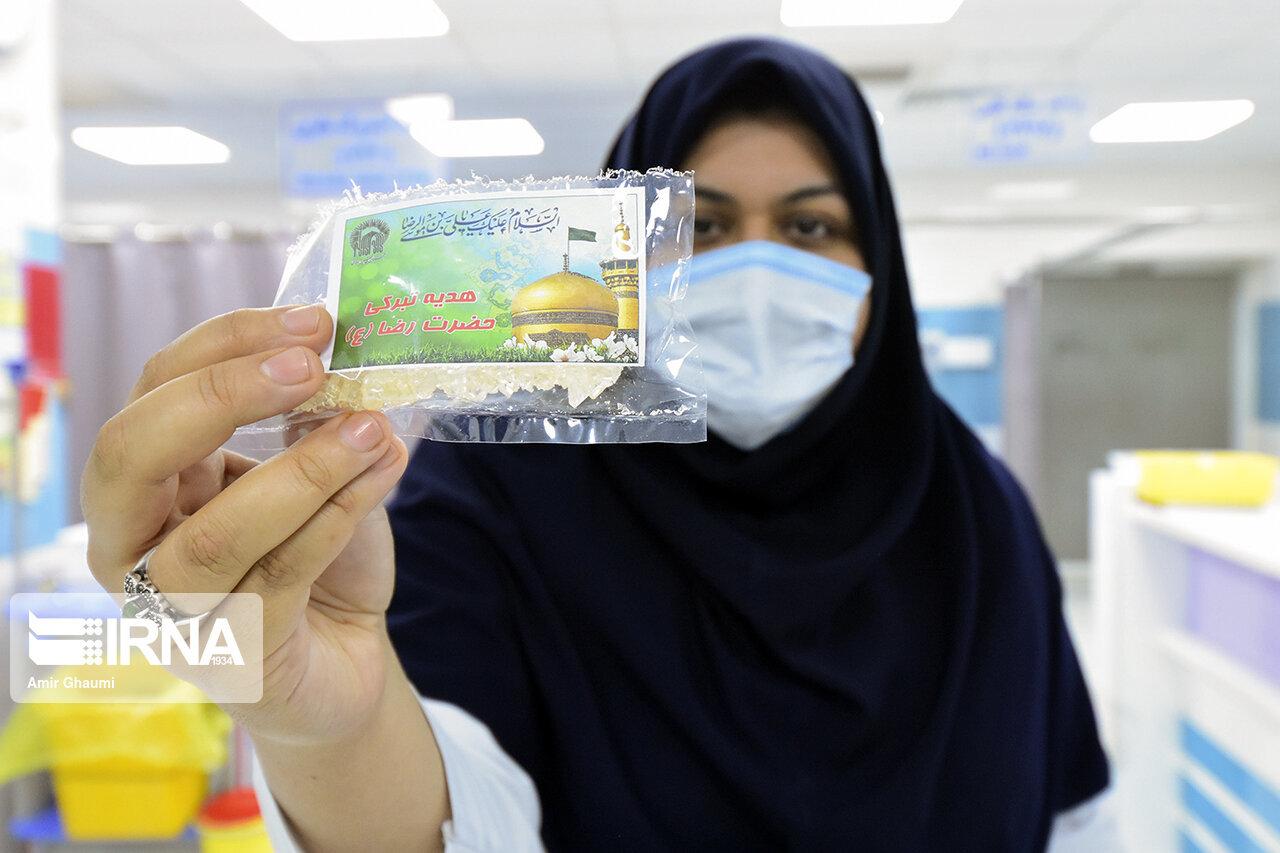 صلوات خاصه امام رضا در مراکز درمانی استان بوشهر طنین انداز شد
