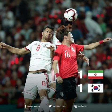 واکنش AFC به تساوی تیم ملی مقابل کره+ عکس