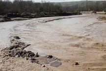 سیلاب در گرمه خسارت به بار آورد