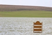 راه های دسترسی به تالاب «شیرین سو» زیر آب رفت