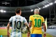 مسی و نیمار در تیم منتخب کوپا آمریکا+عکس