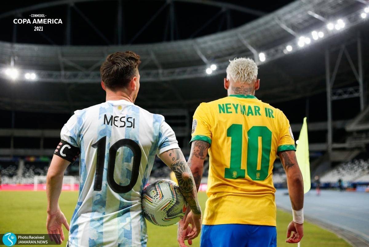 اتفاق عجیب قبل از فینال کوپا آمه ریکا؛ مسی و نیمار بهترین بازیکن شدند! +بیانیه رسمی