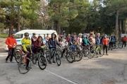 همایش دوچرخهسواری روز هوای پاک در کرمانشاه برگزار شد