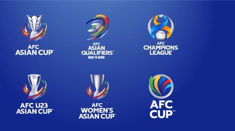 AFC از 6 لوگوی جدید مسابقات فوتبال آسیا رونمایی کرد+عکس