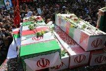 کرمان میزبان 9 شهید گمنام و یک شهید مدافع حرم می شود